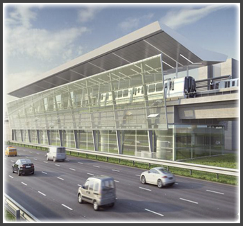 The Dulles Corridor Metrorail Project – Silver Line is a nearly $1.2 billion project intended to create a new Metrorail line originating at Wiehle Avenue in Fairfax County, Virginia, and extending northwest through Washington Dulles International Airport to Route 772 in Loudoun County, Virginia.