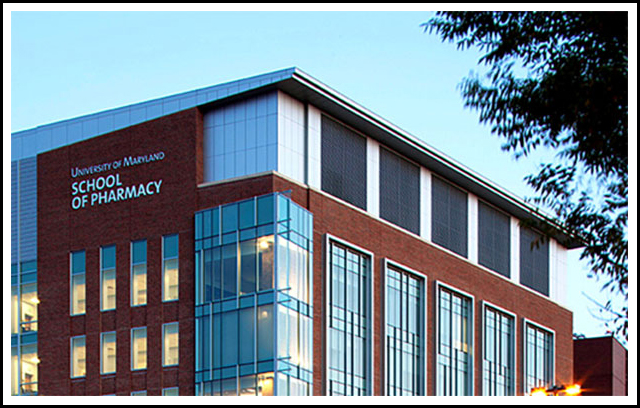 The new Pharmacy School building at the University of Maryland-Baltimore is a 165,000 square foot structure located in downtown Baltimore City, Maryland. Structurally, the building was designed as steel braced frame, with composite slabs on steel beams.